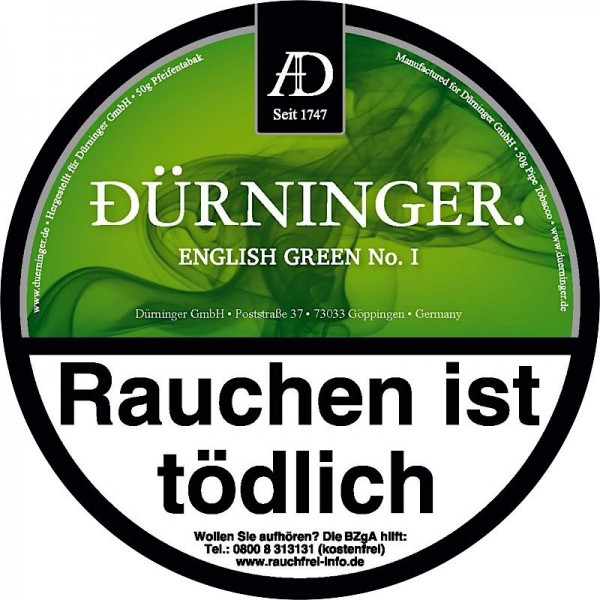 DÜRNINGER ENGLISH GREEN I