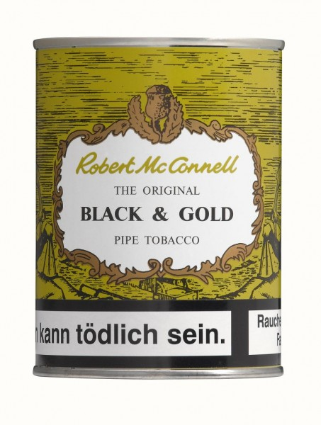 Robert McConnell Black & Gold