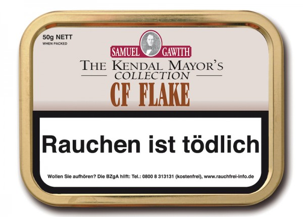 Samuel Gawith's CF Flake (ehem. Chocolate Flake)