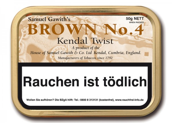 Samuel Gawith's Brown No. 4