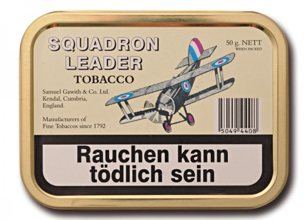 Samuel Gawith's Squadron Leader